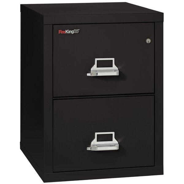 Fireproof 2-Drawer Vertical File Cabinet by FireKing