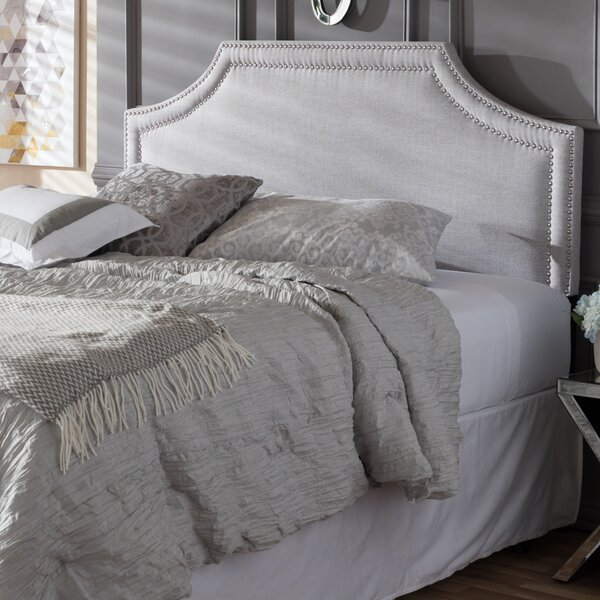 Albee Upholstered Panel Headboard by Latitude Run