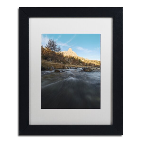 Dream About Landscape by Mathieu Rivrin Framed Photographic Print by Trademark Fine Art
