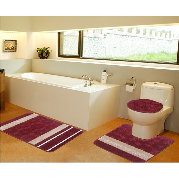3 Piece Bath Mat Set by Daniels Bath
