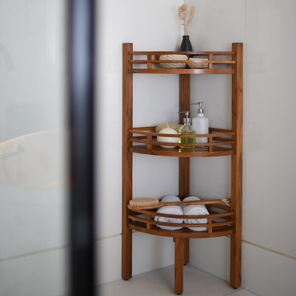 Estate 14.7 W x 42 H Bathroom Shelf by Cambridge Casual