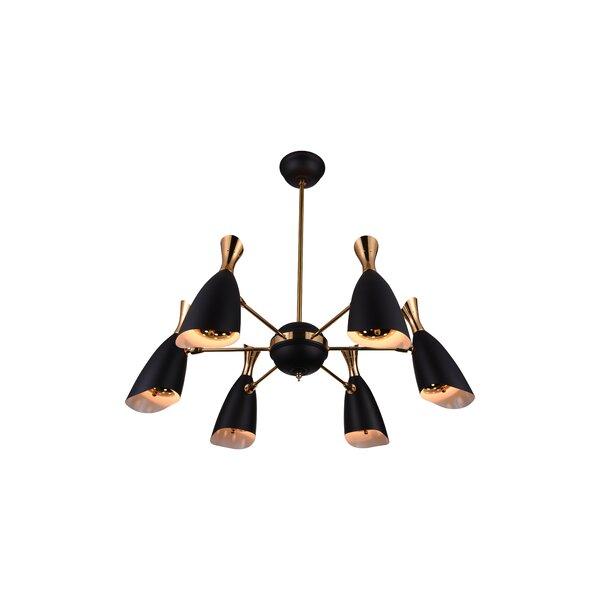 Rolin 12 - Light Sputnik Sphere Chandelier by CWI Lighting CWI Lighting