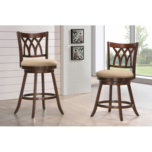 Kaysen 24 Swivel Bar Stool by Darby Home Co