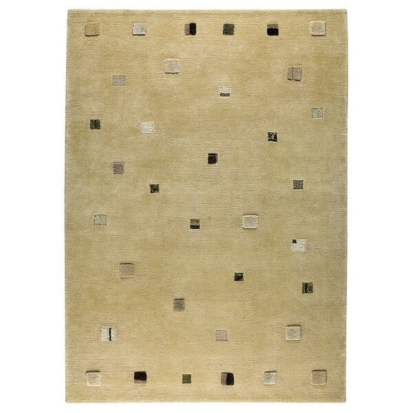 Colombia Hand-Knotted Cafe Latte Area Rug by M.A. Trading