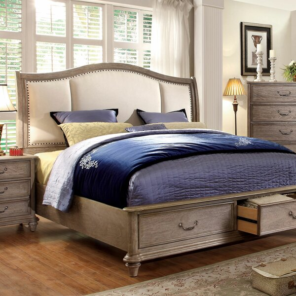 Rumley Upholstered Storage Platform Bed by Canora Grey