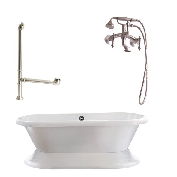 Wescott Dual Soaking Bathtub by Giagni