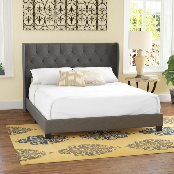 Baremeadow Queen Upholstered Standard Bed by Charlton Home