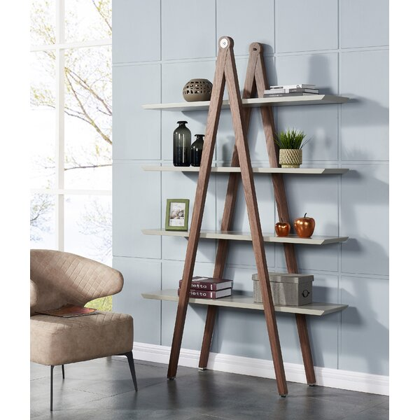 Macron Modern Ladder Bookcase by Union Rustic