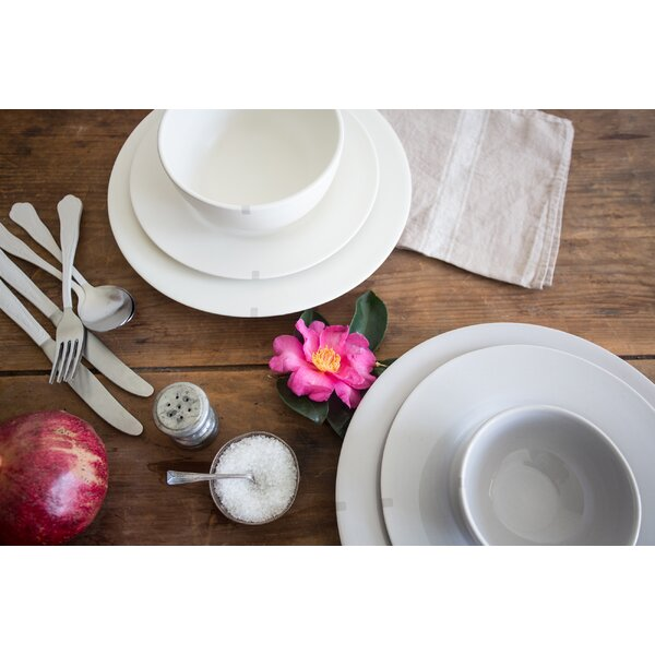 Maxwell Ryan Personal 4 Piece Place Setting, Service for 1 by Canvas Home