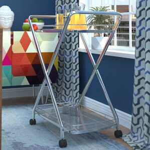 Spaulding Bar Cart by Brayden Studio Best Reviews