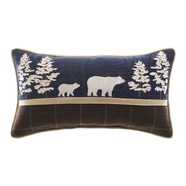 Clairmont Bear Lumbar Pillow by Croscill Home Fashions