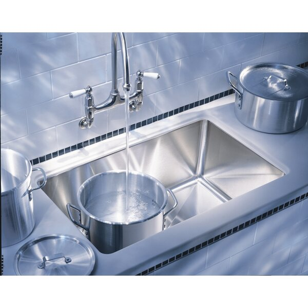 Professional 32 L x 20 W Undermount Kitchen Sink by Franke