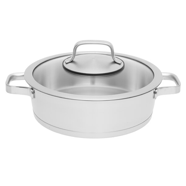 Manhattan Covered 3.2 qt. Stainless Steel Sauce Pan with Lid by BergHOFF International