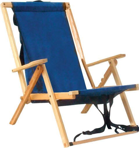Highlands Folding Beach Chair by Blue Ridge Chair Works Blue Ridge Chair Works