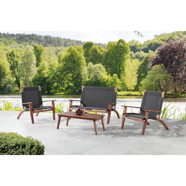 Scoggins 4 Piece Sofa Seating Group by Breakwater Bay