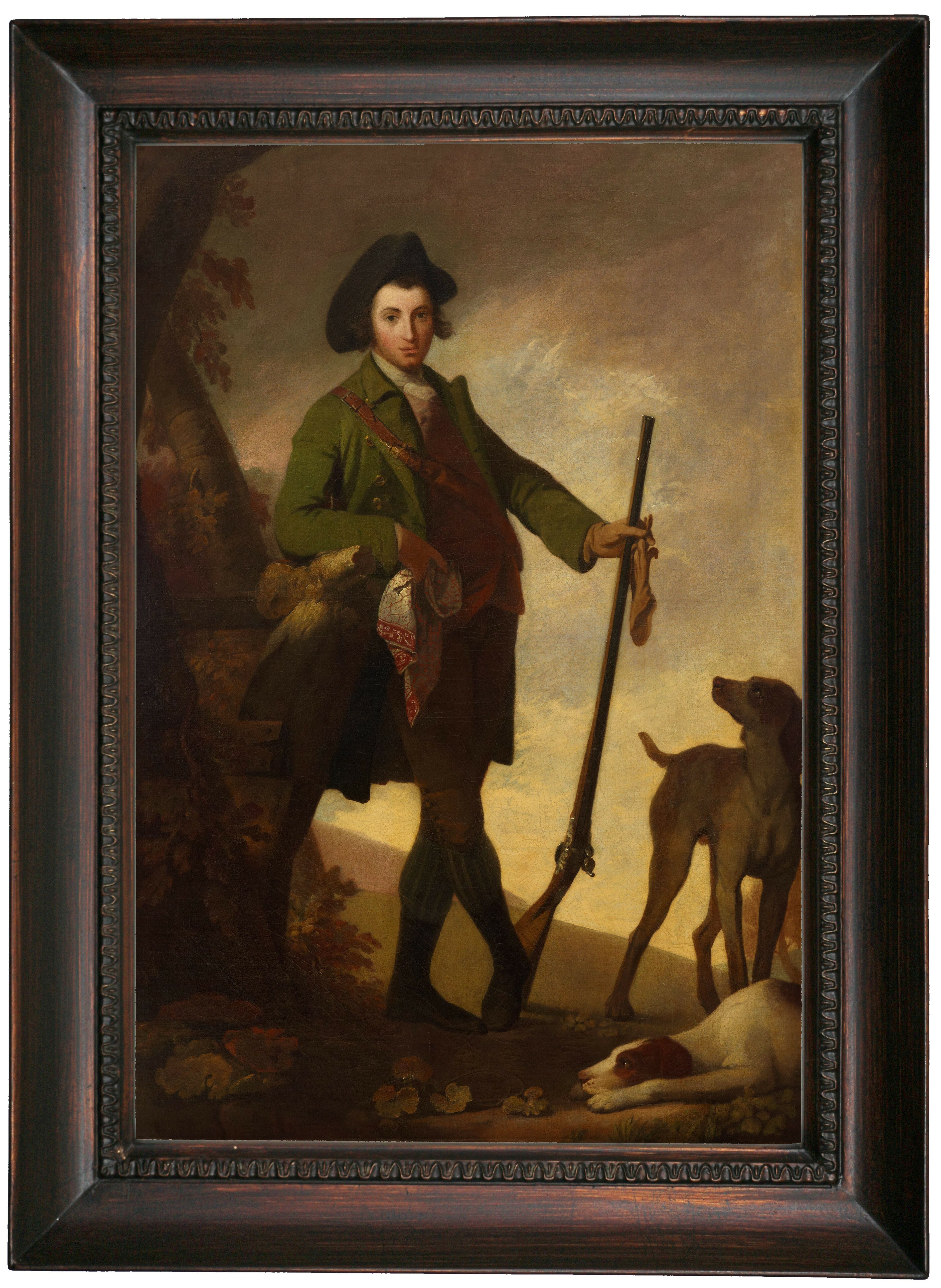 Astoria Grand The Young Sportsman 1766 Framed Oil Painting Print On Canvas Wayfair
