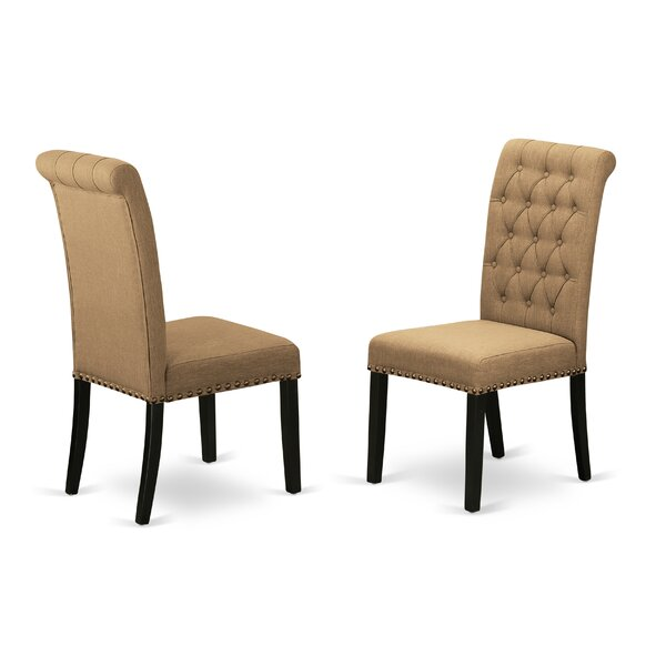 Dancy Upholstered Dining Chair (Set of 2) by Charlton Home