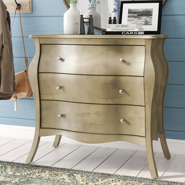 Amiyah 3 Drawer Accent Chest by House of Hampton House of Hampton