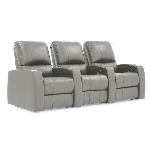 Sloane Manual Reclining Home Theater Sofa (Row Of 3) By Palliser Furniture