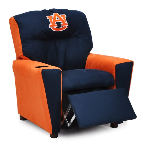 All American Collegiate Kids Recliner with Cup Holder by Kidz World