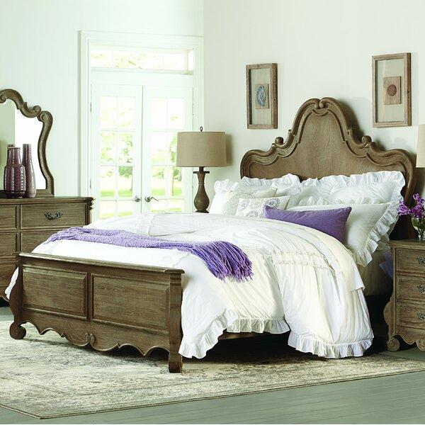 Chrysanthe Standard Bed by Homelegance