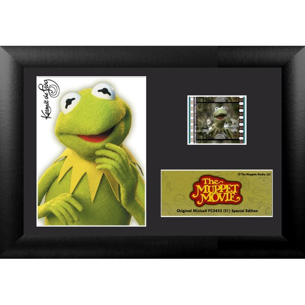 Muppet Movie Mini FilmCell Presentation Framed Vintage Advertisement by Trend Setters
