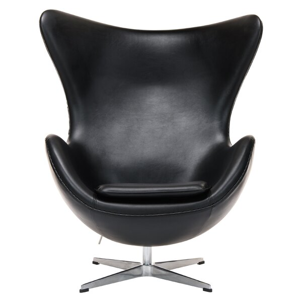Freeland Accent Swivel Balloon Chair by Orren Ellis