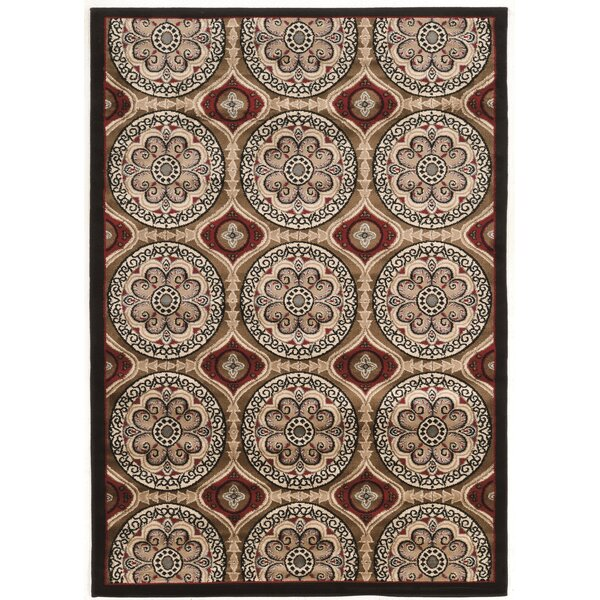 Sioux Falls Brown/Beige Area Rug by Charlton Home