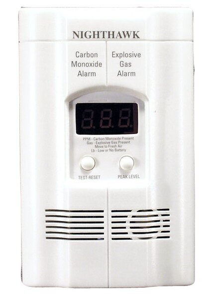 Carbon Monoxide and Explosive Gas Alarm by Kidde