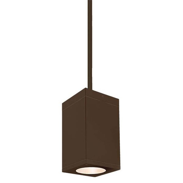 Cube 1-Light LED Outdoor Pendant by WAC Lighting