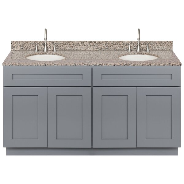 Streicher 60 Double Bathroom Vanity Set by Winston Porter