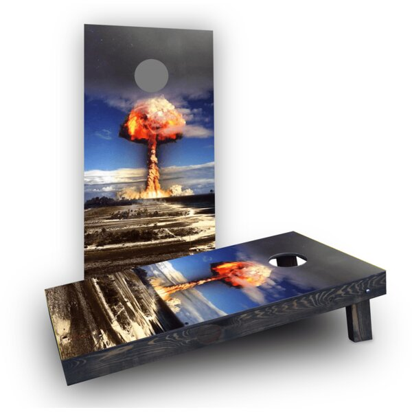 Explosion Cornhole Boards (Set of 2) by Custom Cornhole Boards