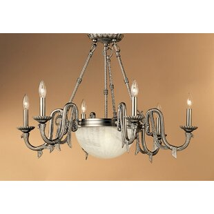St. Moritz 8-Light Chandelier by Classic Lighting