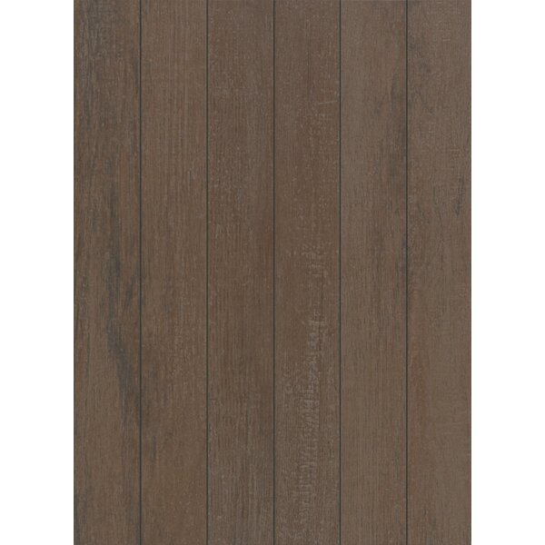 Stanbury Glazed 3 x 24 Porcelain Wood Look Tile in Natural Chocolate by Mohawk Flooring