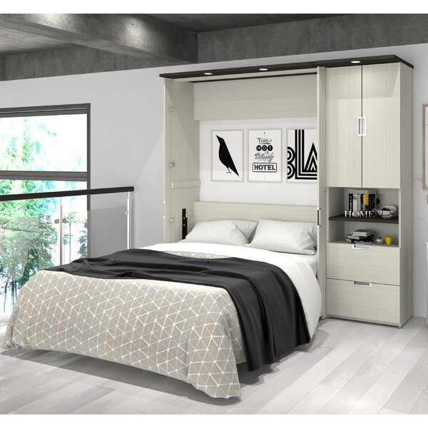 Loyalton Storage Murphy Bed by Latitude Run