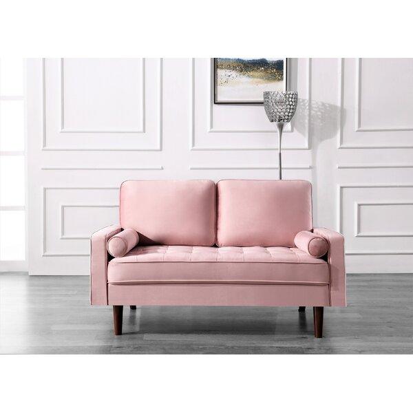 Incredible Comfy Overstuffed Loveseat Wayfair Lamtechconsult Wood Chair Design Ideas Lamtechconsultcom