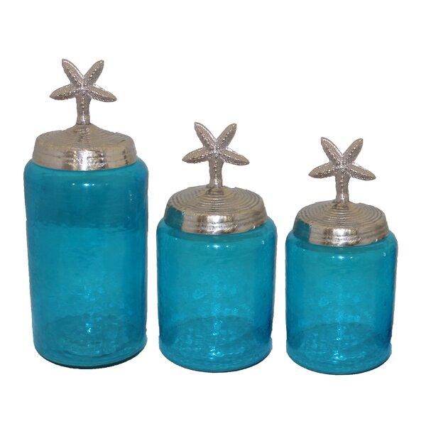 3 Piece Jar Set (Set of 3) by Entrada