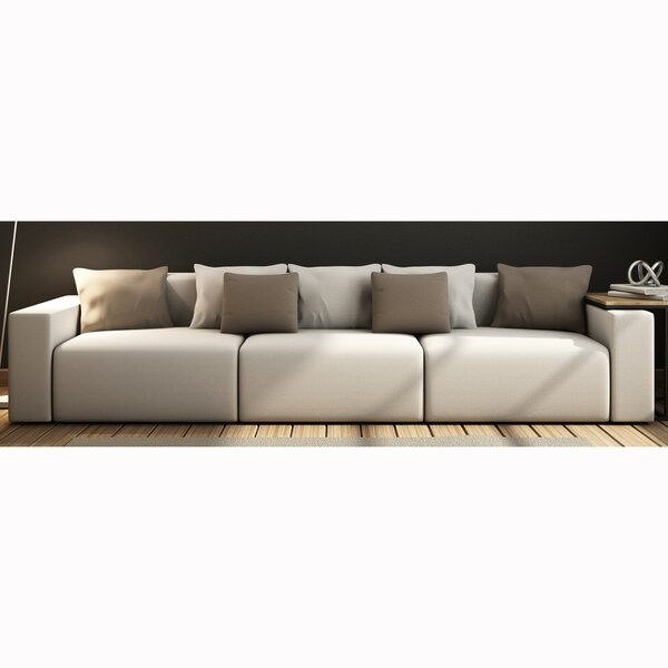 Zita Top Grain Leather Sofa by Orren Ellis