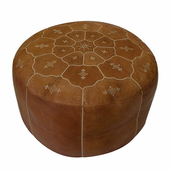 Dorcaster Pouf by Bungalow Rose