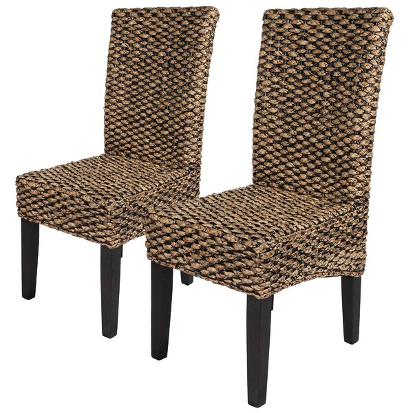 Lamar Upholstered Dining Chair (Set of 2) by Bayou Breeze