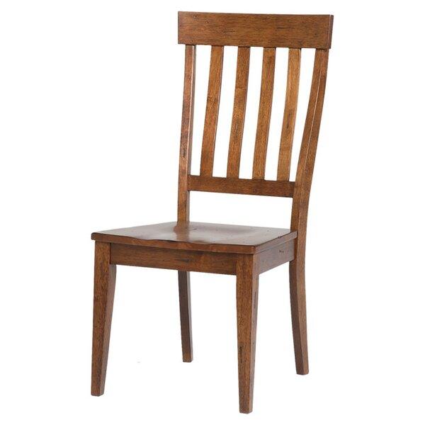 Birchley Slatback Side Chair (Set of 2) by World Menagerie