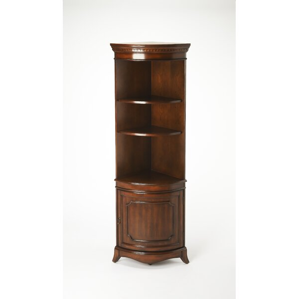 Chaffee Curio Cabinet by Fleur De Lis Living