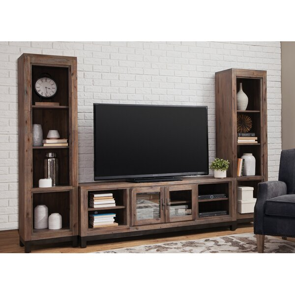 Baringer Solid Wood Entertainment Center For TVs Up To 80