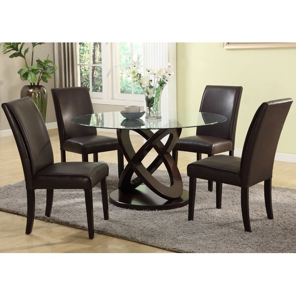 Cicicol 5 Piece Dining Set by Roundhill Furniture