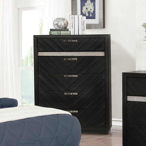 Aranmore 5 Drawer Chest by Orren Ellis