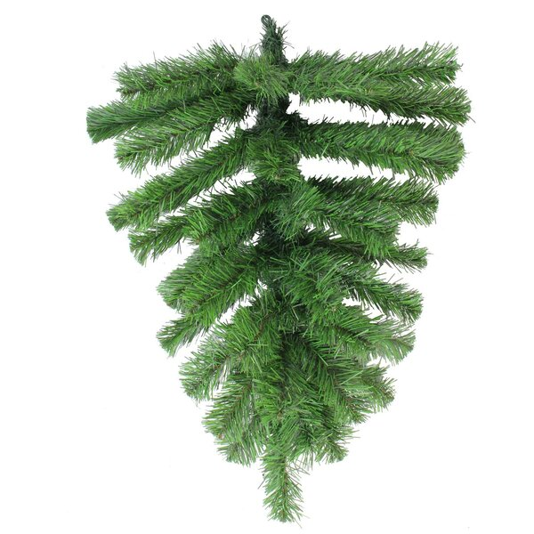 Colorado Spruce Artificial Christmas Teardrop Swag by The Holiday Aisle