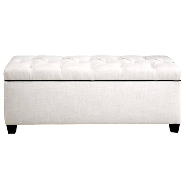 Hayworth Upholstered Storage Bench by Alcott Hill