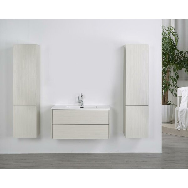 39 Wall-Mounted Single Bathroom Vanity Set by Streamline Bath