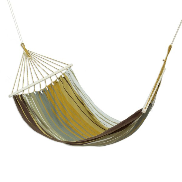 Upper Stanton Striped Earth Cotton Tree Hammock by Millwood Pines