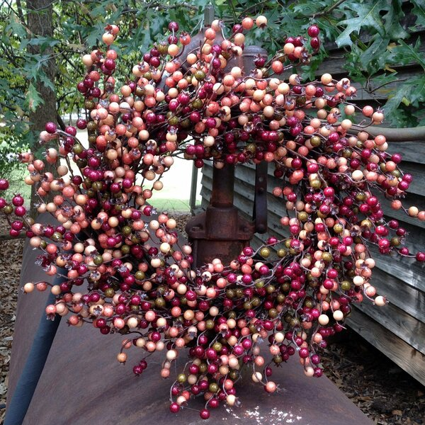Vibrant Fall 22 Wreath by Charlton Home
